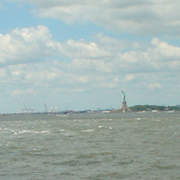 ferry ride/statue of liberty